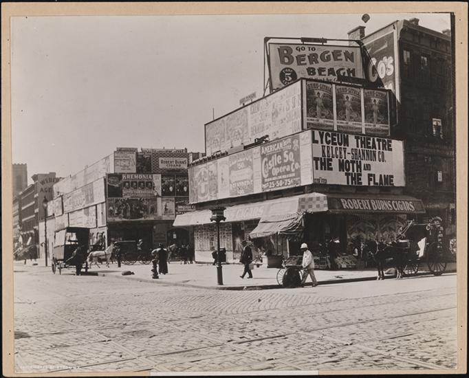 Byron Company. Street Scenes, Broadway & 42nd Street, 1898. Museum of the City of New York. 41.50.865;