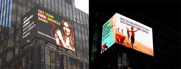 Digital Screens & Billboards   Times Square NYC