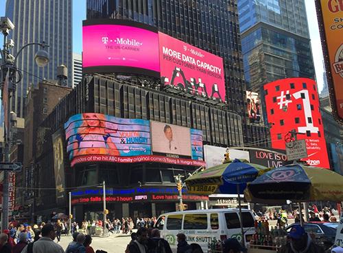 Digital Screens & Billboards | Times Square NYC