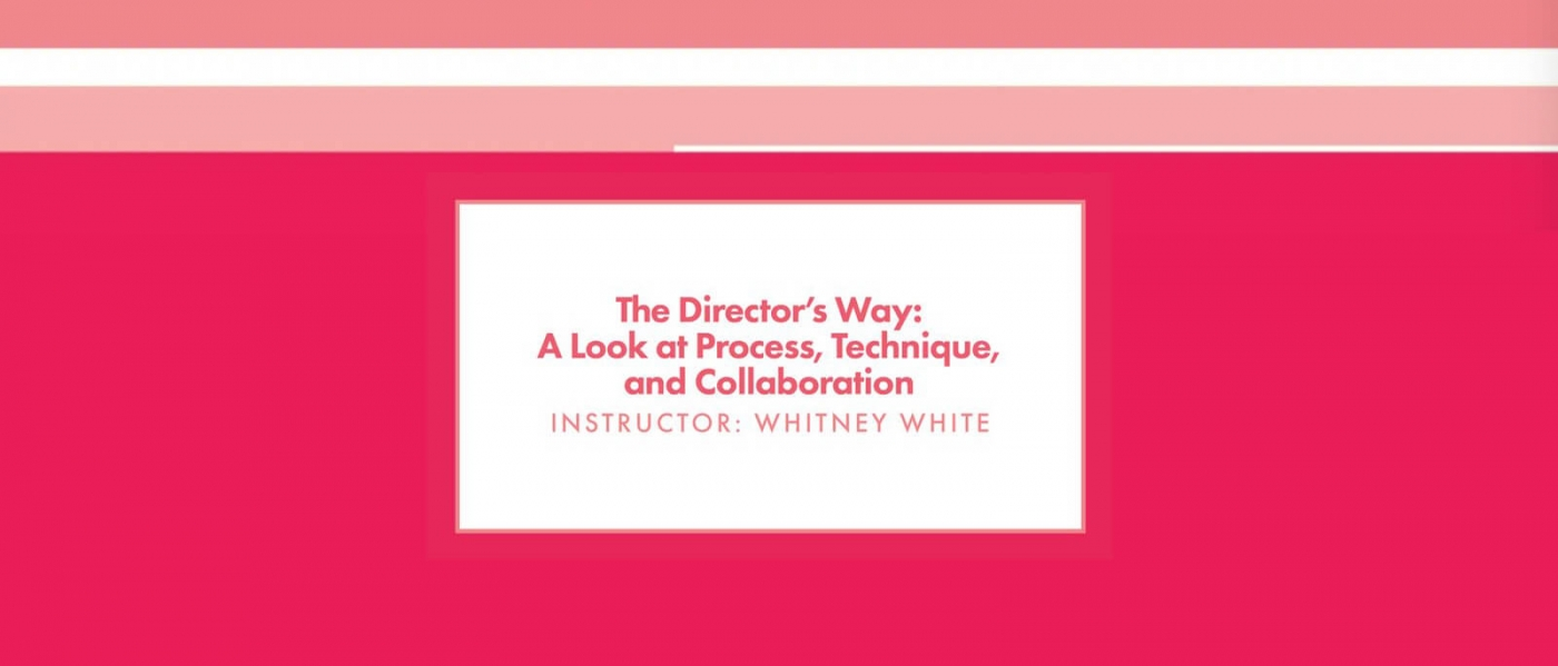 Roundabout Theatre Lab: The Director's Way: A Look at Process, Technique, and Collaboration with Whitney White