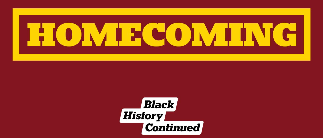 Homecoming: Black History Continued