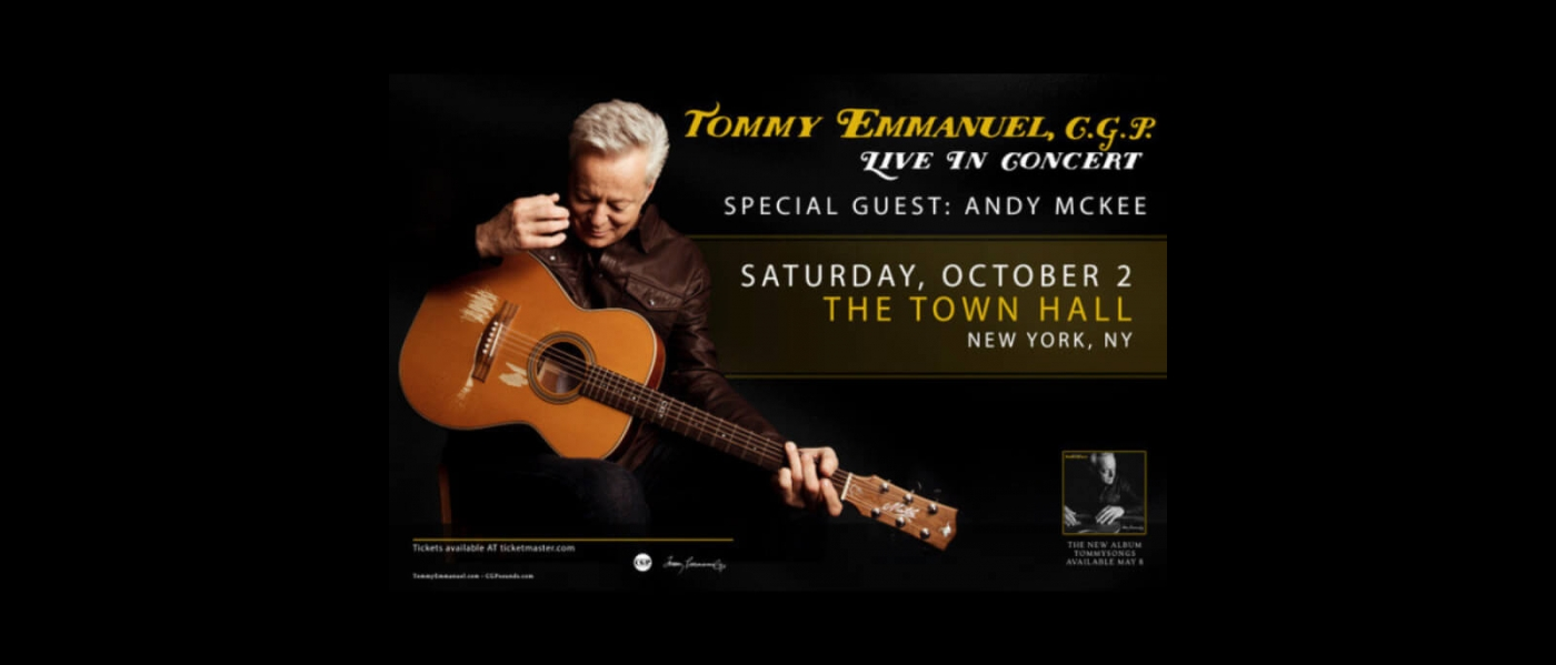 Tommy Emanuel at the Town Hall