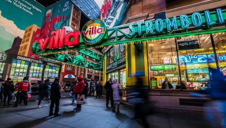 Villa Pizza Food Court 263 W 42nd St