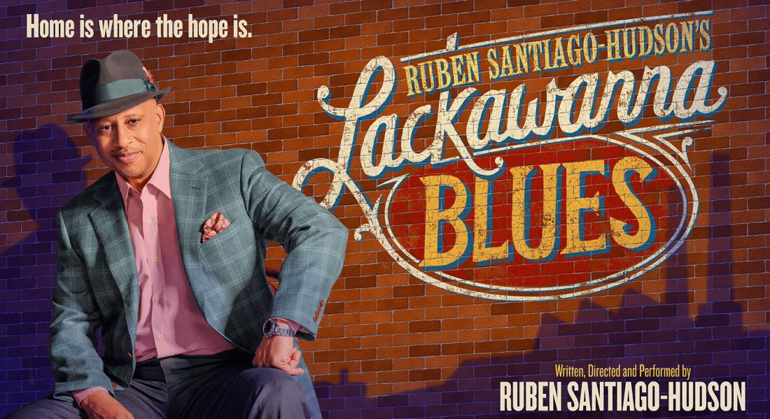Ruben Santiago-Hudson in Lackawanna Blues