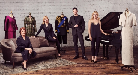 Cast of Diana on Broadway